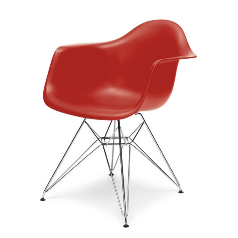 eames dar stuhl in rot 125 00. Black Bedroom Furniture Sets. Home Design Ideas