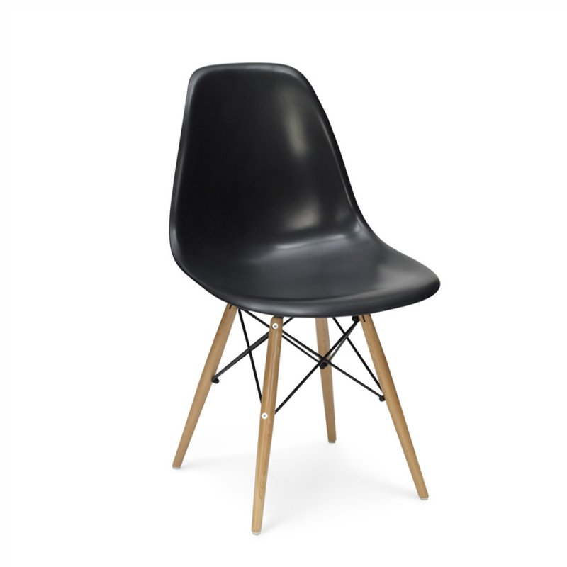 Eames dsw stuhl in schwarz 128 00 for Eames stuhl dsw reproduktion
